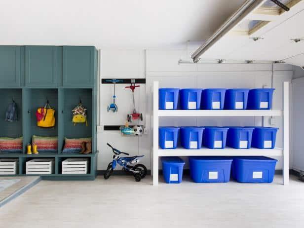 Freshly Repainted Family Home Garage